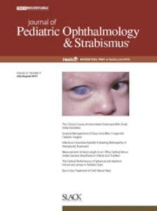 Journal Pediatric Ophthalmology & Strabismus